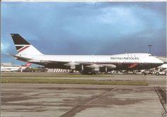 British Airtours B747-100 Postcard