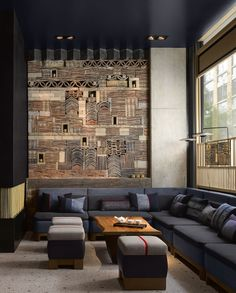 The Nobu Hotel Shoreditch is a contemporary hotel in London featuring architecture and interiors inspired by East Asian culture, art, design and philosophy.
