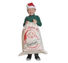 Personalized Santa Sack Christmas Gift Bag - Santa Sacks