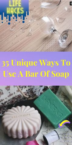 Everyone has a bar or two of soap lying around their house. Typically, most people will only use this soap for washing up. #Diy #Hacks #LIFEHACKS #CRAFTS #HOWTO #TOURS #UPCYCLING #Reuse #Recycle