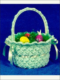 Crochet easter basket by re made by sam easter projects crochet easter basket by re made by sam easter projects pinterest baskets easter baskets and easter negle Images