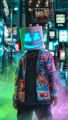 Marshmello Colourful Full HD Phone Wallpapers - Wallpaper Cave