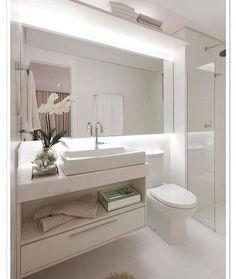 Banheiro clean!! #decor #decora #decoração #decorando #decoration #desing #detalhes #details #banheiro #lavabo #interiordesing #inspiração #inspiration #ape #apartamento #apartament #apartamentopequeno #apartamentodecorado #homedecor #homedesing #homedecoration #casanova #clean