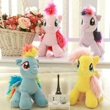 18cm 6 Colors Fresh Plush Unicorn Horse Stuffed Animals Toys Baby Infant Girls Toys Birthday Gift Rainbow Das Dependable Performance Toys & Hobbies Dolls & Stuffed Toys