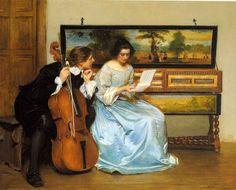 John Seymour Lucas - The Interval 1905