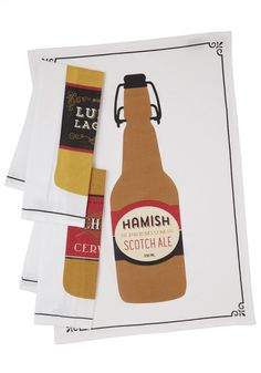 Lager Blogger Tea Towel Set, #ModCloth