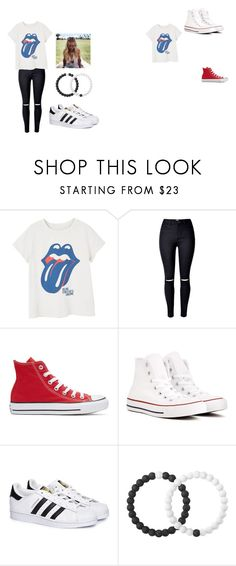 """""""Untitled #3"""" by millinder on Polyvore featuring MANGO, Converse, adidas and Lokai"""