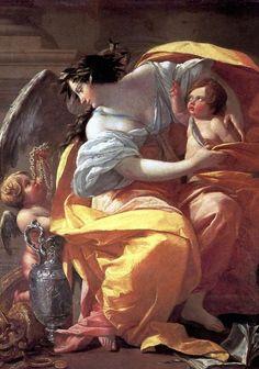 Художник Simon Vouet (Симон Вуэ). Картины