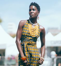 Afropunk festival fashion ankara jumpsuit by Lord Ashbury