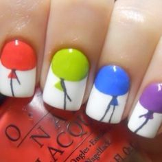 Or this more minimal approach: | 26 Incredibly Creative Works Of Nail Art