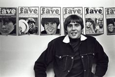 Davy Jones featured in multiple issues of Tiger Beat.