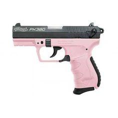 "WALTHER PK380 PK 380 380ACP 3.6"" PINK / BLACK 8+1 - http://gunsforsalebuy.com/walther-pk380-pk-380-380acp-3-6-pink-black-81.html"