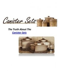 1000 images about kitchen canister sets on pinterest for Kitchen set from the 90 s