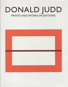Donald Judd Book