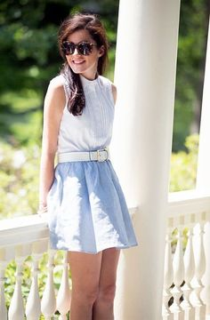45 Preppy Summer Outfits and STYLE for Adrettes Sommeroutfit & -stil Summer Outfits Women 20s, Preppy Summer Outfits, Summer Outfit For Teen Girls, Preppy Casual, Preppy Girl, Preppy Style, Classy Outfits, Spring Outfits, Preppy Skirt Outfits