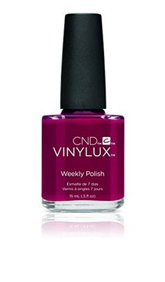 CND Vinylux Weekly Nail Polish, Rouge Rite, .5 oz - http://buyonlinemakeup.com/cnd-cosmetics/rouge-rite-cnd-vinylux-weekly-nail-polish-field-2