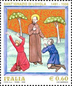 2006 - 450° anniversario della morte di Sant'Ignazio di Loyola