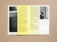 Japan Week Booklet by adrian meseck, via Behance