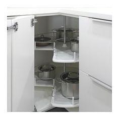 UTRUSTA Corner base cabinet carousel - IKEA