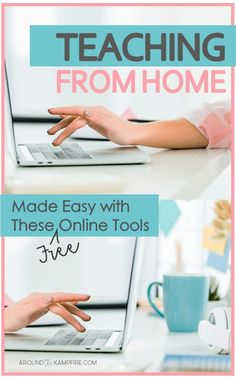 Learn how to use online tools to teach your students from home during school closures, illness, or regular school breaks. Easily set up distance learning with these apps and websites to help you get started. Home Teaching, Teaching Schools, Teaching Technology, Teaching Tips, Student Learning, Educational Websites For Kids, Educational Games, Educational Leadership, Online Classroom