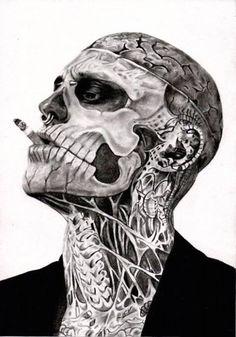 Rick Genest-Zombie Boy
