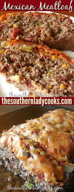 Mexican meatloaf is an easy, delicious recipe you will make over and over again. Mexican meatloaf is an easy, delicious recipe you will make over and over again. It is very versatile in that you can add or remove ingredients you li. Easy Delicious Recipes, Yummy Food, Healthy Recipes, Beef Dishes, Food Dishes, Hamburger Meat Dishes, Main Dishes, Mexican Meatloaf, Taco Meatloaf