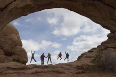 Family at Arches