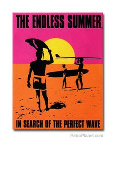 image of Endless Summer Surfing Movie Metal Sign