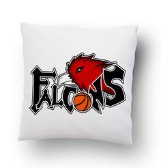 Falcon basketball Pillow Cover