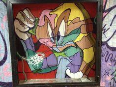 "Graffiti art in Sofia's underpass near bul. ""Mihai Eminescu"" and Tsarigradsko shose (булевард ""Цариградско шосе"")."