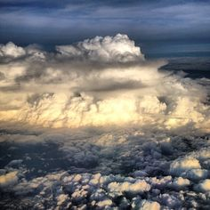 Eerily Beautiful Photo Of Hurricane Isaac From An Airplane  The one hurricane Instagram you have to see.