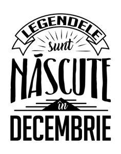 Legendele sunt nascute in Decembrie disponibil la Tshirt Factory. Cumpara Legendele sunt nascute in Decembrie incepand de la 39 lei.