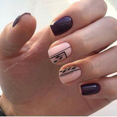 ,nails sencillas gelish ideas nails,,My pins Shellac Nails, Nail Manicure, My Nails, Nail Polish, Cute Nails, Pretty Nails, Fingernails Painted, Nails 2017, Bling Nails
