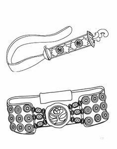 DIA DE LA TRADICION 05 Belt, Personalized Items, Accessories, Colonial, Education, Folklore, Free Coloring Pages, Belts, Onderwijs