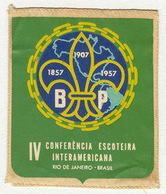 4º Conferencia Scout Interamericana Río de Janeiro, Brasil22 al 27 de febrero de 195717 Paises