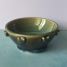condiments jewelry Studded Stoneware Bowl for spices desk accessory