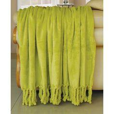 Flannel Fleece Braided Throw | Wayfair
