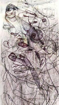 Luis Ricardo esperando la peluqueada. #LuisRicardo #arte #sketch #dibujo #raro #violet #pencil #mexico https://www.flickr.com/photos/luisricardo/23902520900/in/dateposted/