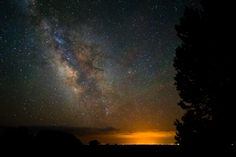 Over Alamosa, CO.  Milky Way Gold by Mike Berenson - Colorado Captures, via 500px