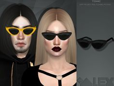 The Sims Resource: Toxic glasses by Mr Alex • Sims 4 Downloads