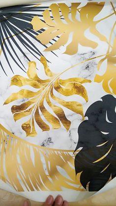 Framing Canvas Art, Canvas Wall Art, Wall Art Prints, Gold Leaf Art, Gold Art, Bird Painting Acrylic, Triangle Art, Diy Wall Art, Leaf Wall Art