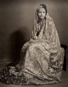 Portrait of Nawab Begum Sajida Sultan K. L. Syed & Co. (Palanpur)