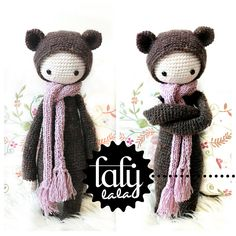"Ravelry: ""BINA"" - Doll Project No. I - Bear pattern by Lydia Tresselt"
