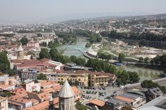 Georgia - Tbilisi from the Narikala Fortress - Peggy Bright