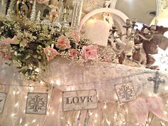 Penny's Vintage Home: Christmas Mantle