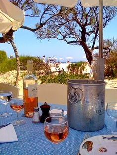 Club 55 St Tropez - The famous lunch spot, reservation needed one week ahead (fresh, local food)