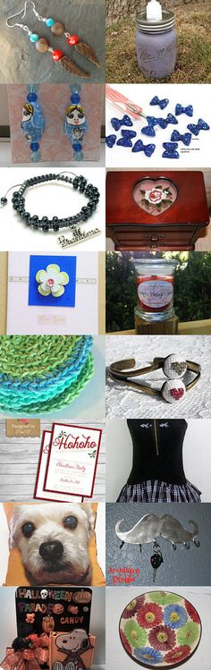 Great Gift Ideas from the shops of FMS by Ginger Duckett on Etsy--Pinned with TreasuryPin.com