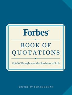 May/29 #Kindle US #eBook Daily #Deal Forbes Book of Quotations: 10,000 Thoughts on the Business of Life #Quotations #Reference #Business #Writing #Skills #Money #ebooks #book #books #deals #AD