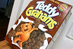 Teddy Grahams Chocolate Snacks for Breakfast