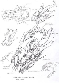 ::the dreadful 'skeeters' with their infernal buzzing::     Glorlons air unit by TugoDoomER on DeviantArt